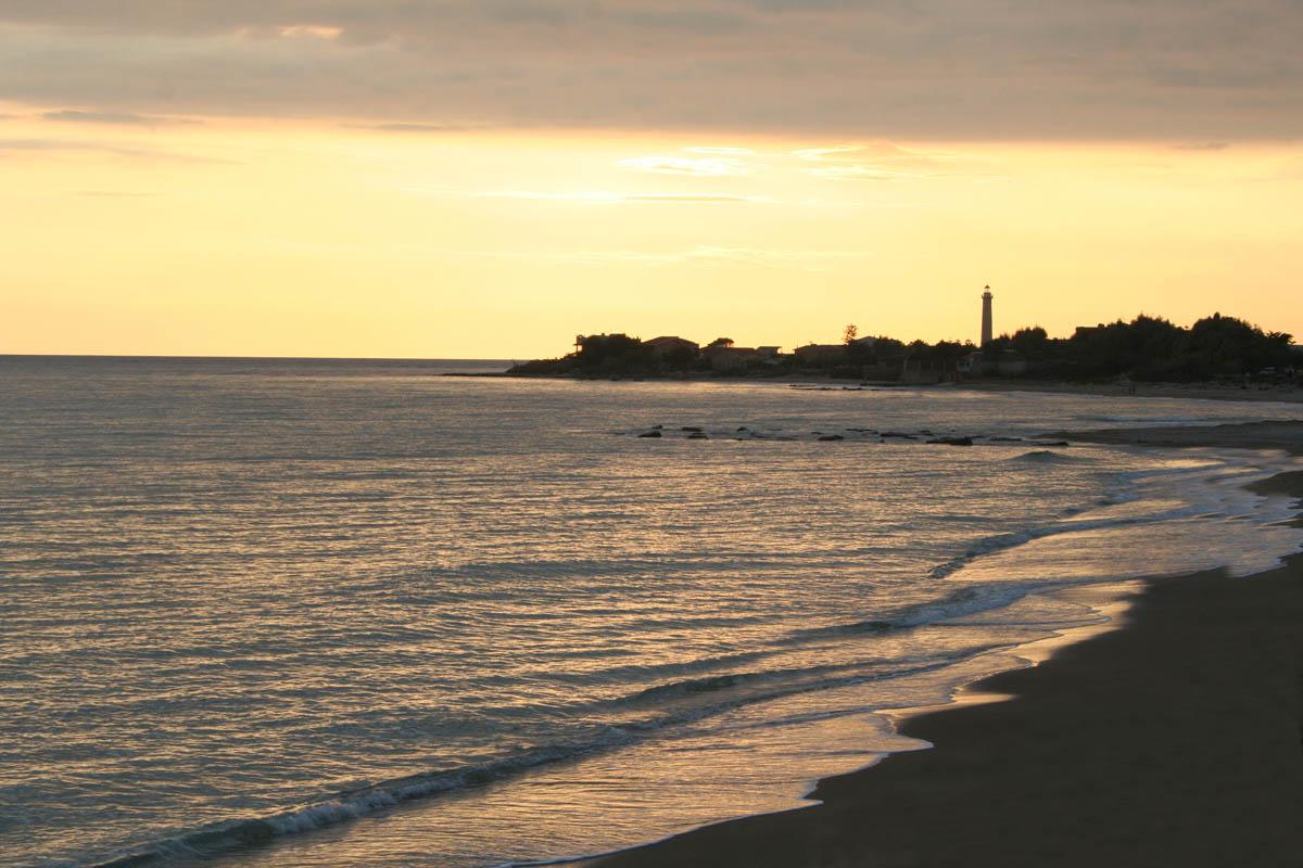 spiaggia di caucana